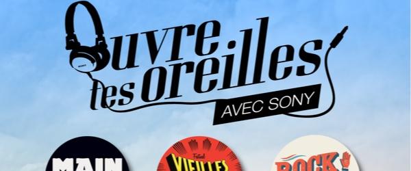 2 places pour Rock en Seine avec Sony