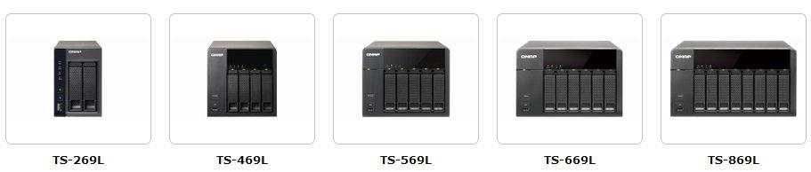 TS 269L TS 469L TS569L TS 669L TS 869L Les Turbo NAS TS x69L arrivent...