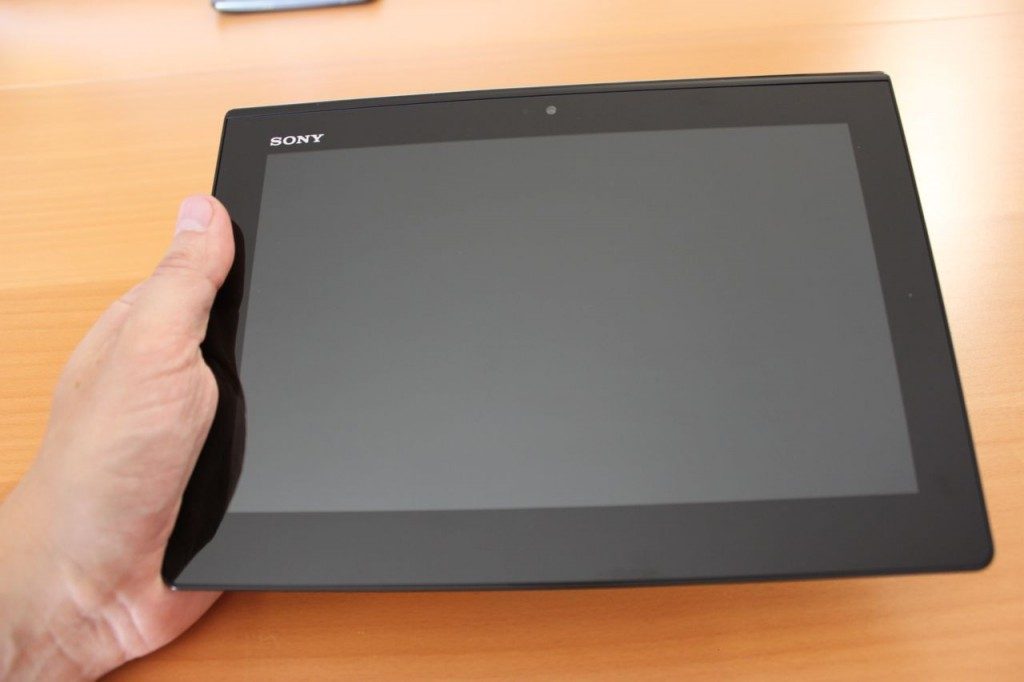 Test Sony Xperia Tablet S