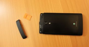 Test Xperia Ion SD SIM