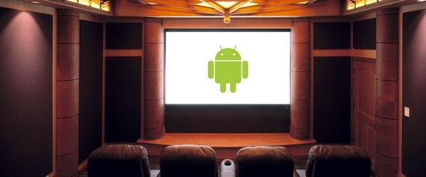 bandeau android homecinema Connecter un TizzBird F20 à votre télé
