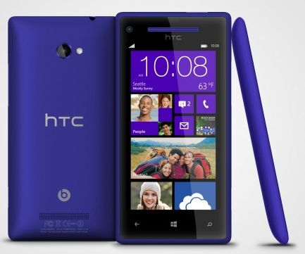 htc windows phone 8x Les Windows Phone 8X et 8S d'HTC débarquent