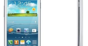 GALAXY SIII mini face et profil