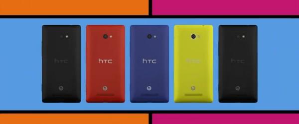 HTC 8X Le HTC 8X en vidéo