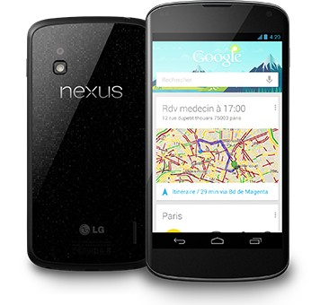 LG Nexus 4 1 million de Nexus 4 vendus