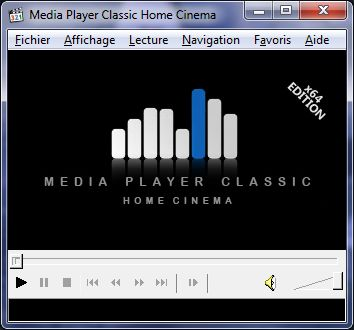 Media Player Classic Home Cinema STOP aux codecs...