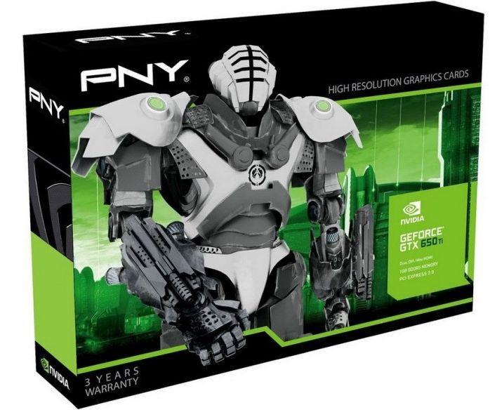 PNY GeForce GTX 650 Ti PNY GeForce GTX 650 Ti pour moins de 150€