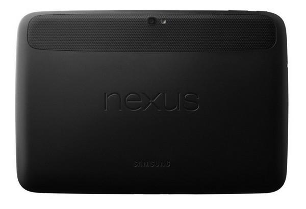 Samsung Nexus 10 dos Google annonce les Nexus 4, 7 et 10