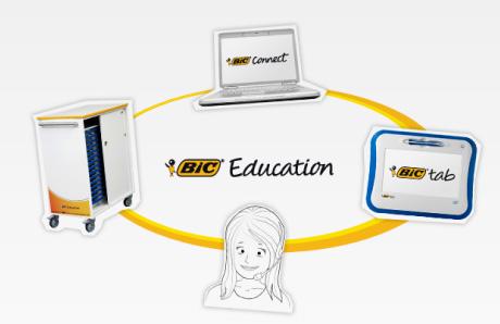 bic education solution Les ardoises numériques arrivent en classe