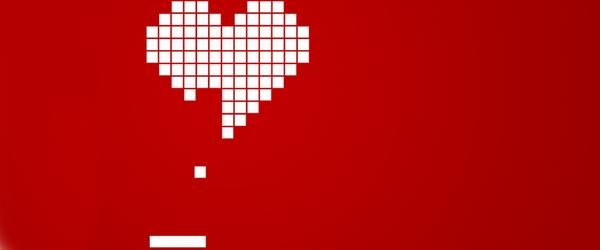 coeur tetris amour