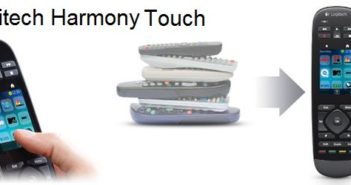 logitech harmony touch titre