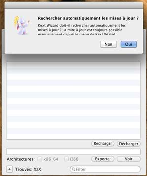 mise a jour Kext Wizard VMware OS X 10.7.5 sous Windows