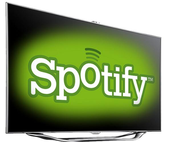 samsung spotify Spotify arrive sur nos écrans...