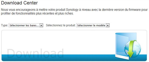 synology donwload center Synology DSM passe en version 4.1 2647