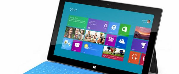 tablette surface windows rt Microsoft met en vente sa tablette