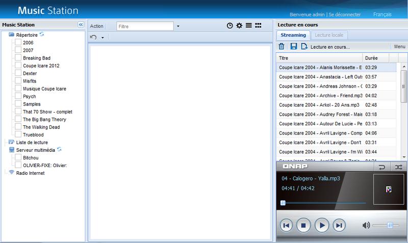 09 musique staion old Test du NAS QNAP TS 469L et firmware 3.8