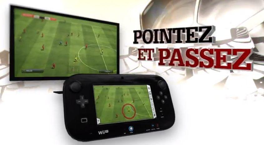 Fifa 13 Wii U pointer passer FIFA 13 sur Wii U !
