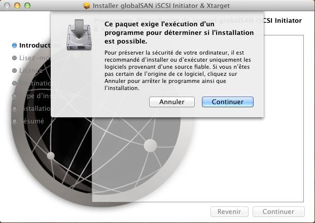 Initiateur iSCSI MacOSX 3 Installer 2 serveurs de données (SAN) répliqués avec OpenMediaVault et DRBD