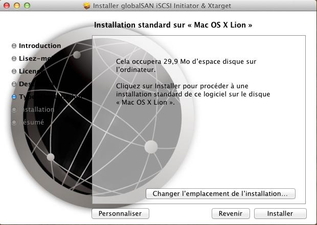 Initiateur iSCSI MacOSX 5 Installer 2 serveurs de données (SAN) répliqués avec OpenMediaVault et DRBD