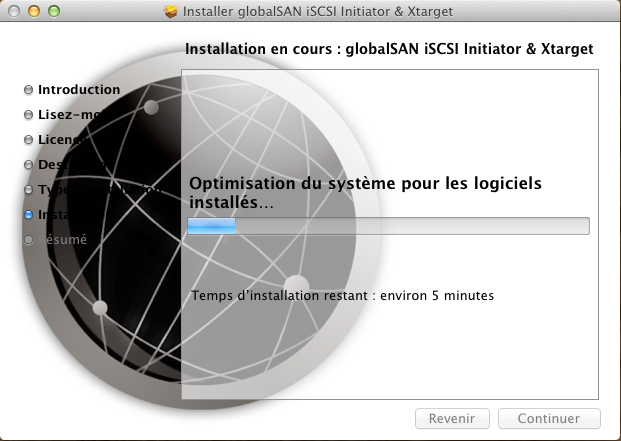 Initiateur iSCSI MacOSX 6 Installer 2 serveurs de données (SAN) répliqués avec OpenMediaVault et DRBD