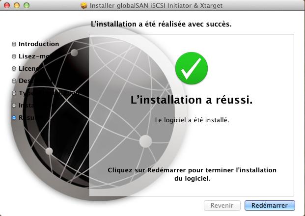 Initiateur iSCSI MacOSX 7 Installer 2 serveurs de données (SAN) répliqués avec OpenMediaVault et DRBD