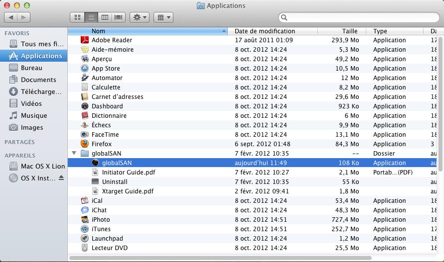 Initiateur iSCSI MacOSX Param 1 Installer 2 serveurs de données (SAN) répliqués avec OpenMediaVault et DRBD