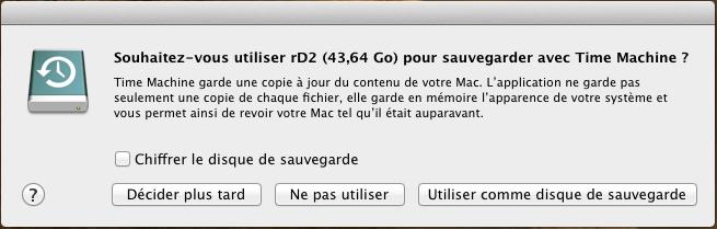 Initiateur iSCSI MacOSX Param 23 Installer 2 serveurs de données (SAN) répliqués avec OpenMediaVault et DRBD
