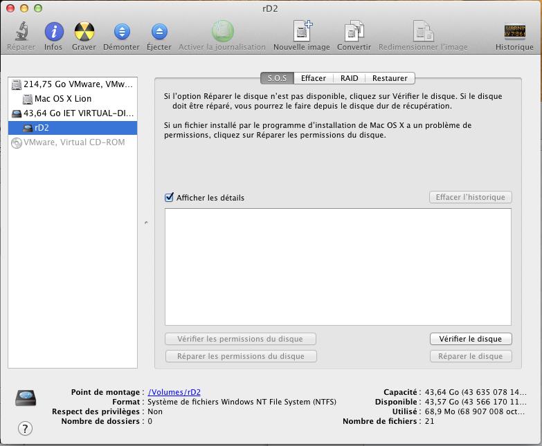 Initiateur iSCSI MacOSX Param 24 Installer 2 serveurs de données (SAN) répliqués avec OpenMediaVault et DRBD