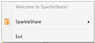 M1 Installer SparkleShare, un Dropbox like Open Source