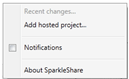 M2 Installer SparkleShare, un Dropbox like Open Source