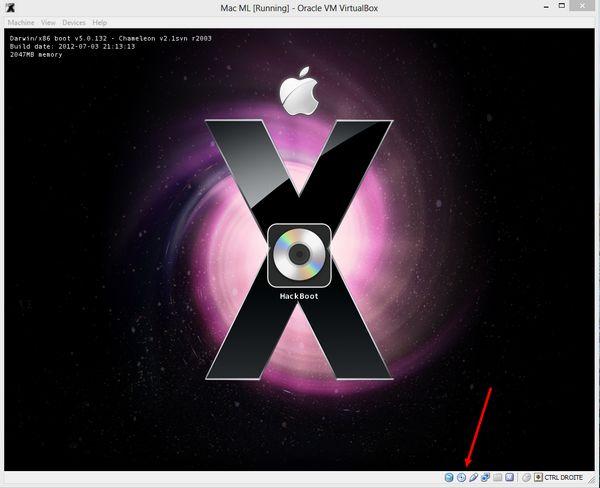 ML CD DVD Comment installer OS X sur votre PC avec VirtualBox ?