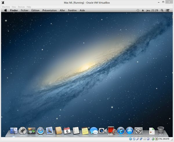 Mountain Lion VM VirtualBox Windows 8 Comment installer OS X sur votre PC avec VirtualBox ?