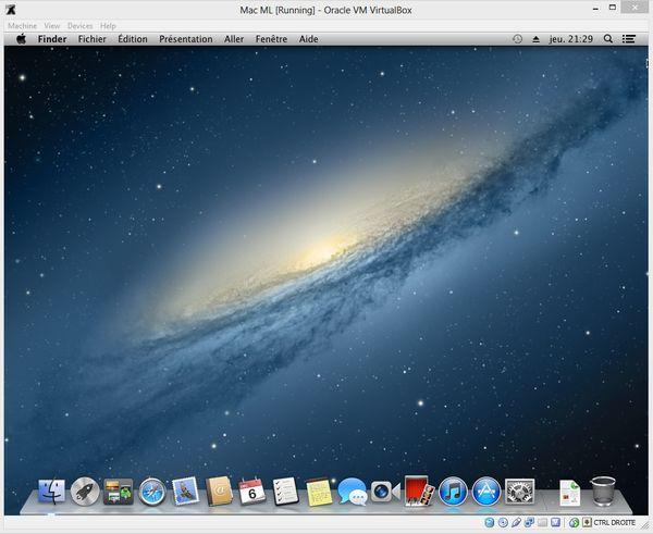 installer mac os x sur pc télécharger
