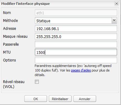 Network 2 Installer 2 serveurs de données (SAN) répliqués avec OpenMediaVault et DRBD