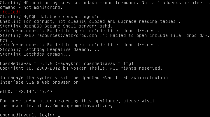 OpenMediaVault12 Installer 2 serveurs de données (SAN) répliqués avec OpenMediaVault et DRBD