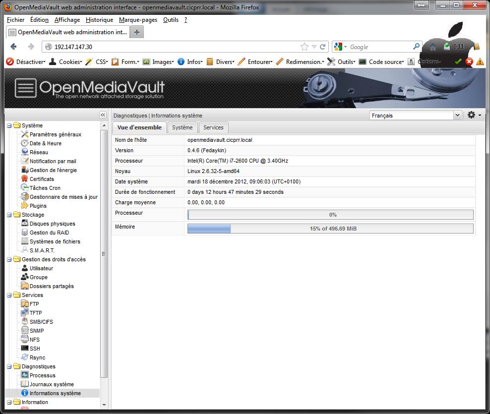 OpenMediaVault14 Installer 2 serveurs de données (SAN) répliqués avec OpenMediaVault et DRBD
