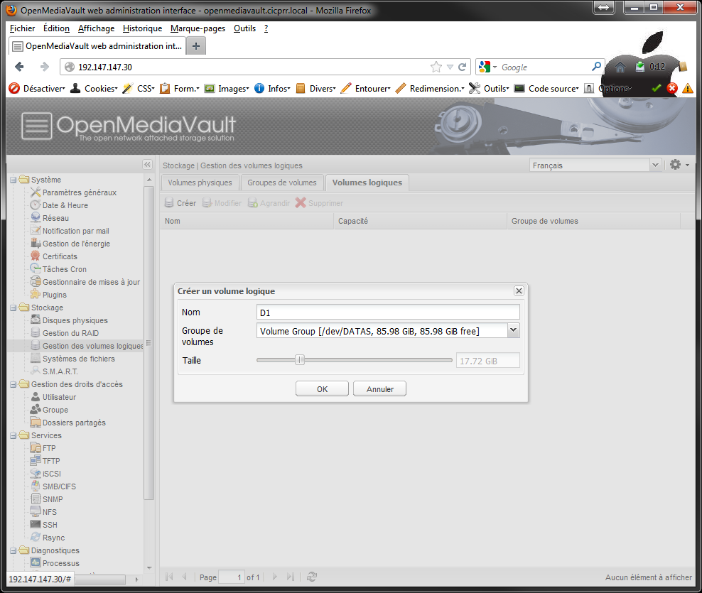 OpenMediaVault_LVM_LV_select