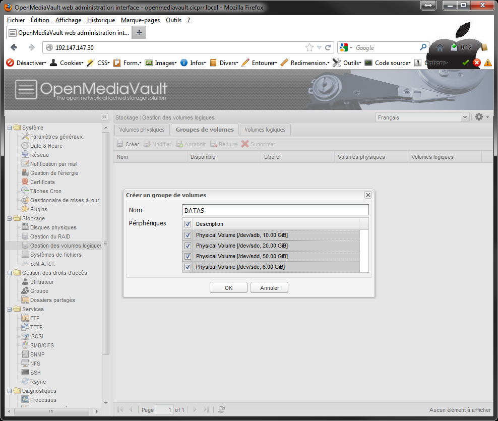 OpenMediaVault_LVM_VG_select_PV