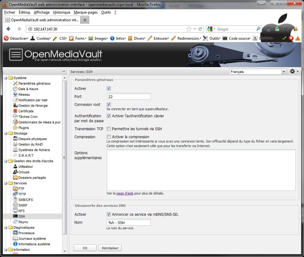 OpenMediaVault SSH Installer 2 serveurs de données (SAN) répliqués avec OpenMediaVault et DRBD