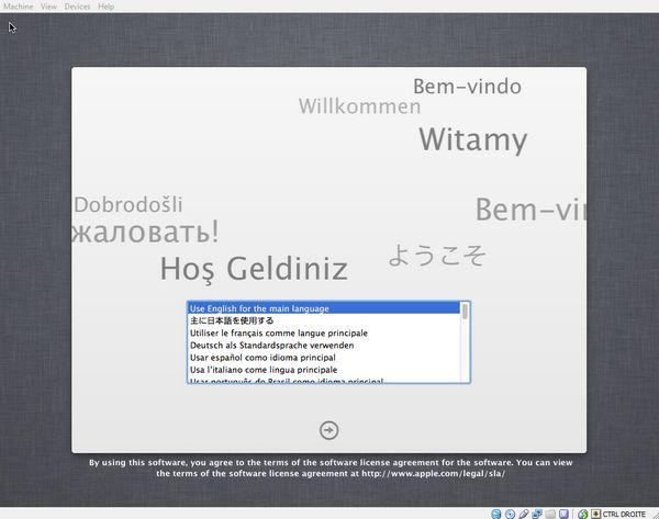 welcome Comment installer OS X sur votre PC avec VirtualBox ?