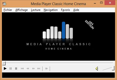 Media Player Classic Home Cinema Comment lire un film Blu ray avec Windows 8 ?