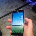 Xperia Z avant 150x150 Prise en main Sony Xperia Z