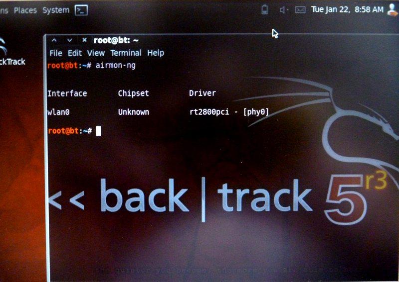 airmon ng WiFi   Cracker une clé WEP en 30 minutes