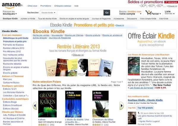 ebooks Kindle