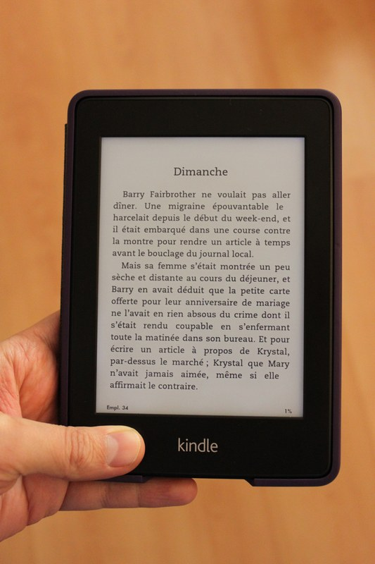 kindle paperwhite Test du Kindle Paperwhite