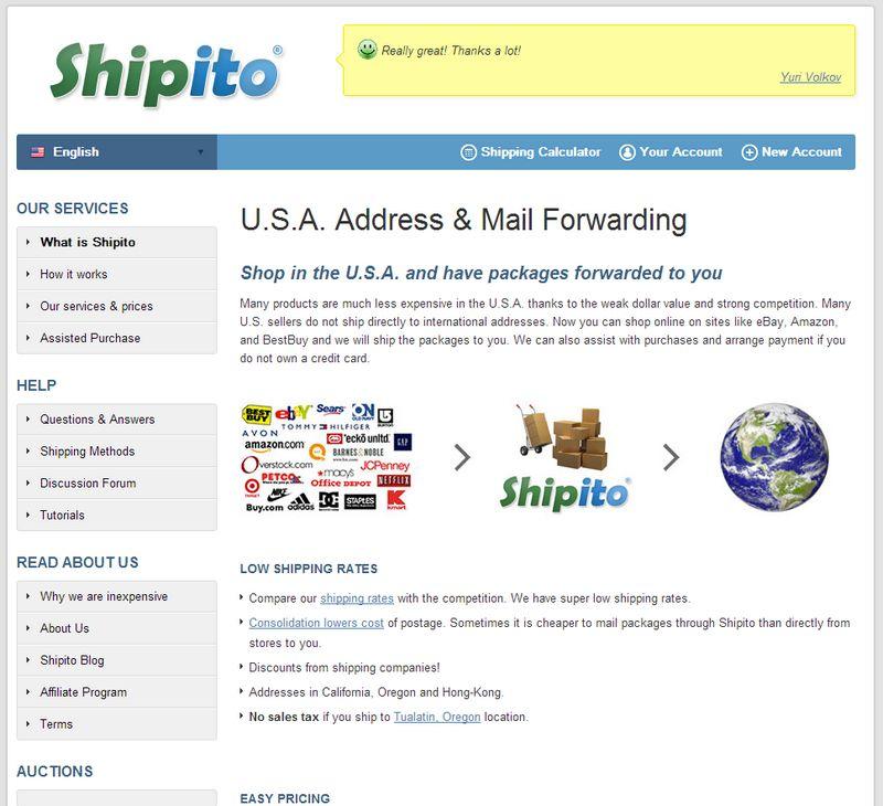 shipito Importer facilement avec Shipito