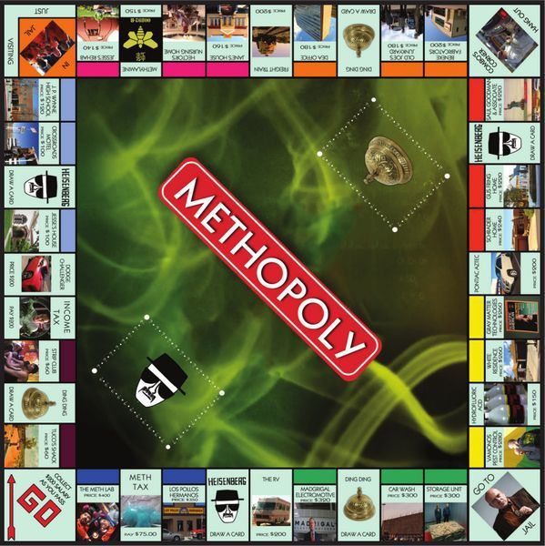 METHOPOLY Methopoly – Le Monopoly de Breaking Bad
