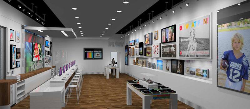 PolaroidFotobar store1 Un Polaroïd Fotobar en Floride