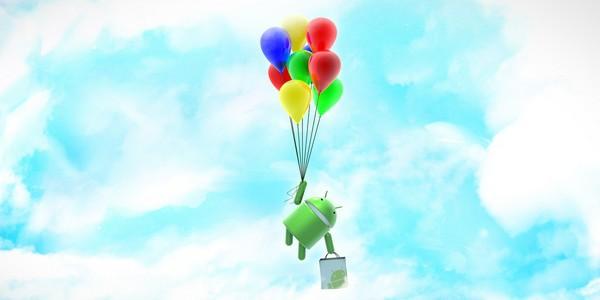 android ballon bandeau