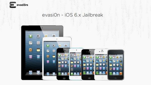 evad3rs evasi0n ios 6.x Jailbreak